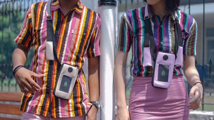 Produk Lokal Jambi Narai Neckbag, Tas Kecil Ini Punya Banyak Fungsi dan Fashionable