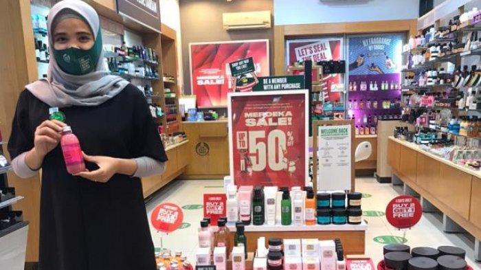 Diskon Hingga 50 Persen Di The Body Shop Wtc Batanghari Jambi 70 Persen Di Ace Hardware Tribun Jambi