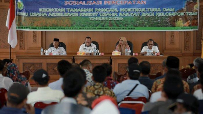 Produksi Pertanian Naik, Petani Diminta Tetap Berinovasi, Bupati Sukandar Buka Sosialisasi Pertanian