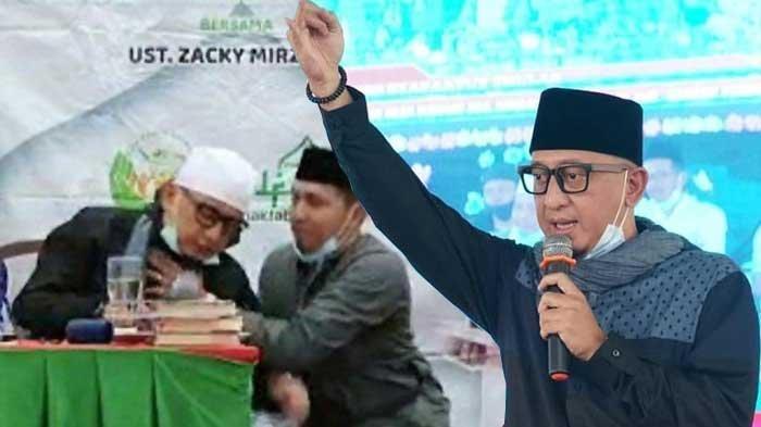 TERUNGKAP Penyakit yang Buat Ustaz Zacky Mirza Pingsan saat Dakwah di Riau, Sang Istri Buka-bukaan