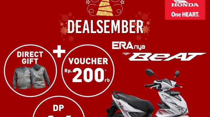 Dealsember, Honda Sinsen Jambi Tawarkan Beragam Promo Menarik Akhir Tahun