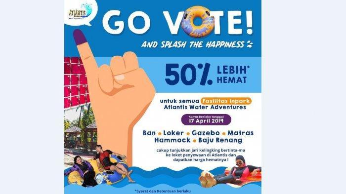 Daftar Promo Diskon Pemilu 2019, dari Dunkin Donuts s/d Taman Safari Indonesia Bogor