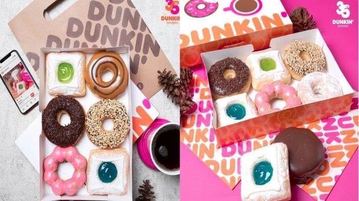 Promo Dunkin Donuts Hari Ini 14 Februari 2021, Beli 8 Gratis 4 Donuts Classic, Pay 8 For 12