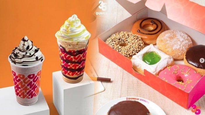 Promo Dunkin Donuts Hari Ini 3 Februari 2021 Lucky Tuesday, Beli 1 Gratis 1