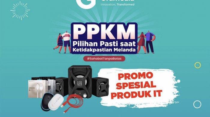 Promo PPKM, Gramedia Jambi Hadirkan Harga Spesial Produk IT