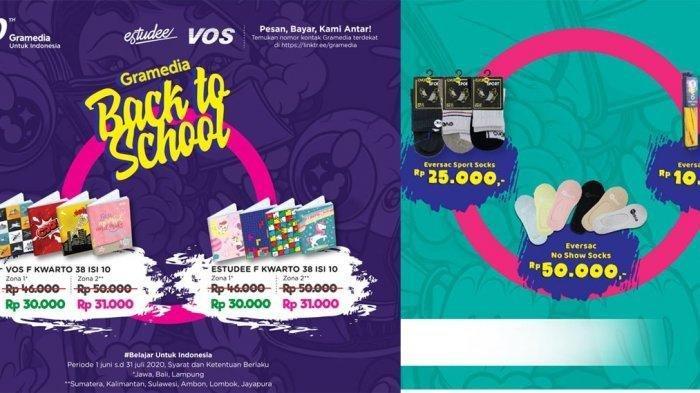Promo Back to School dari Gramedia, Diskon tas hingga 50 persen