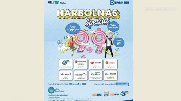 Daftar Promo Harbolnas Spesial Bank Bri 9 September 2020 Cek Diskon Lengkap Halaman All Tribun Jambi