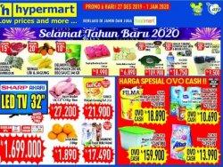 Harga Spesial Tahun Baru, Hypermart Juga Siapkan Bahan Segar, Ada Seafood dan Daging Barbeque