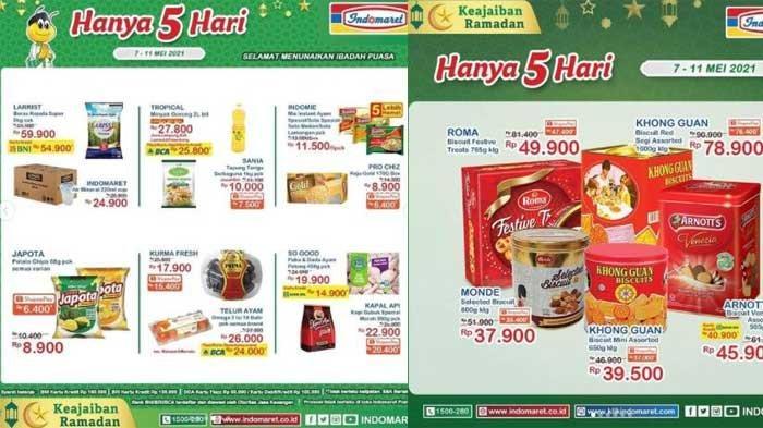 Promo Indomaret 10 - 11 Mei 2021 Ada Minyak Goreng 2 Liter Rp 27.800 dan Khong Guan Rp 39.500