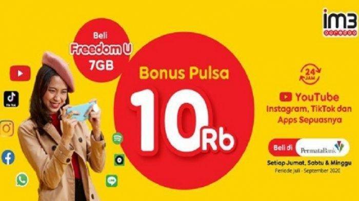 Indosat Ooredoo Update Promo Indosat Ooredoo, Dapat Paket Internet Gratis 2 GB hingga Cashback 10 Persen