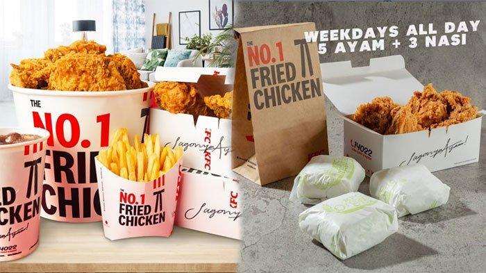 Promo KFC Hari Ini 16 April 2021 Ada Kombo Ramadhan dan KFC Crazy Deals Buat yang Lagi Ngemall
