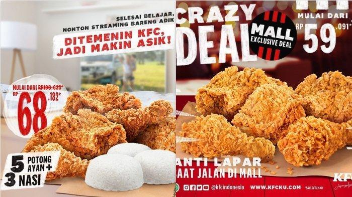 Promo KFC Hari Ini 15 Maret 2021 Diskon 30 % untuk Paket Super Besar
