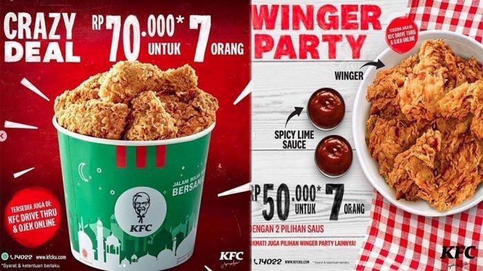 PROMO KFC dan Pizza HUT Bulai Mei, Bersama 7 Makanan Lainnya Ada Diskon Besar Terakhir Dunkin Donuts