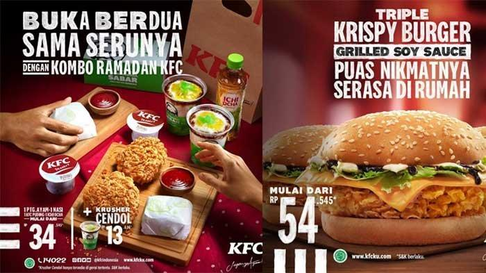 Promo KFC Hari Ini 14 April 2021 KFC Crazy Deals Menu Buka Puasa Hingga Triple Krispy Burger
