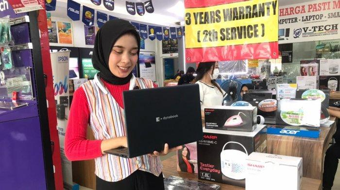 Dapat Hadiah Langsung dan Cashback,Promo Beli Laptop Dynabook Vaganza di Toko V-Tech