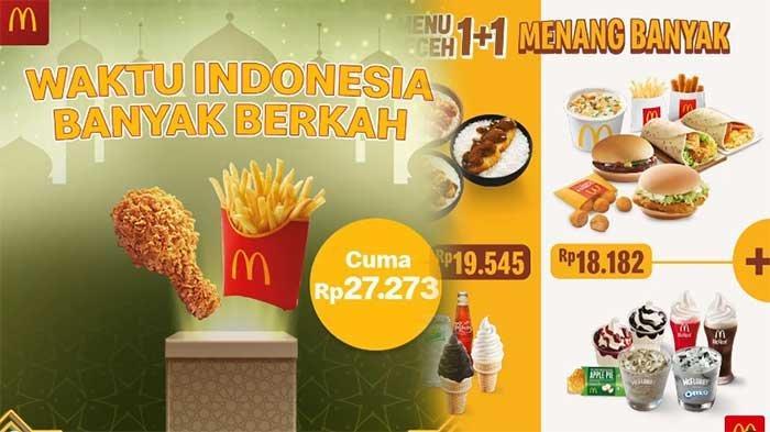 Promo McDonalds Hari Ini 16 April 2021 Ada Ayam dan Kentang Rp 27 Ribuan dan Menu Receh Rp 18 Ribuan