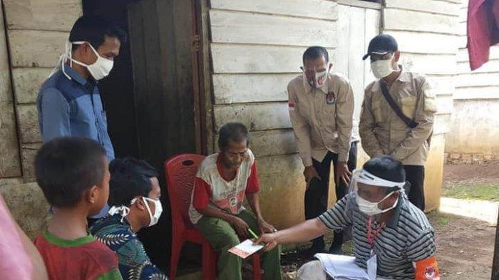 Ratusan PPDP KPU Batanghari Lakukan Proses Coklit Pilkada Serentak