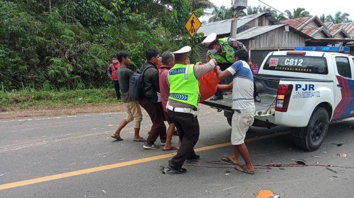 Anggi Pratama Tewas di Tengah Jalan, Sopir Truk Hino Kabur Usai Gilas Pengendara Honda BeAT