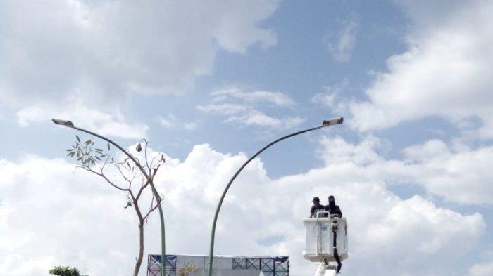 Warga Laporkan Lampu Jalan di Jl. Pattimura Tak Dipasang Lagi Setelah Ditabrak, Ini Jawaban Kadishub
