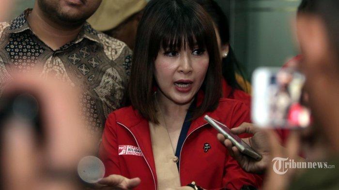 Tangis Grace Natalie Pecah Lihat Hasil Quick Qount, Ingat Perjuangan Besarkan Partai PSI