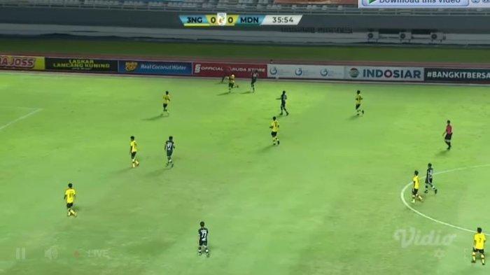 Skor Sementara PSMS Medan vs KS Tiga Naga di Liga 2 Siaran Langsung Vidio.com