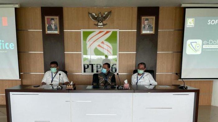 PTPN VI Launching Aplikasi e-DoRemi