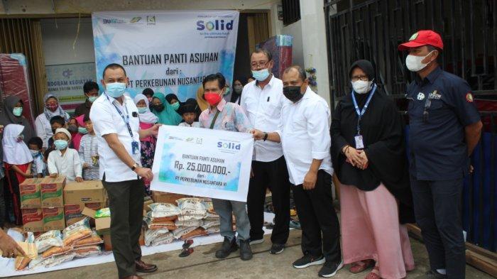 Rayakan HUT ke 25, PTPN VI Berikan Bantuan Pada Panti Asuhan