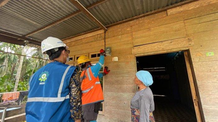 PT PLN (Persero) bersama Bupati Tanjung Jabung Barat serta Forkopimda melaksanakan Syukuran Atas Terlistrikinya 19 Desa di 3 Kecamatan yakni Pengabuan, Senyerang dan Seberang Kota pada Senin, 12 April 2021.