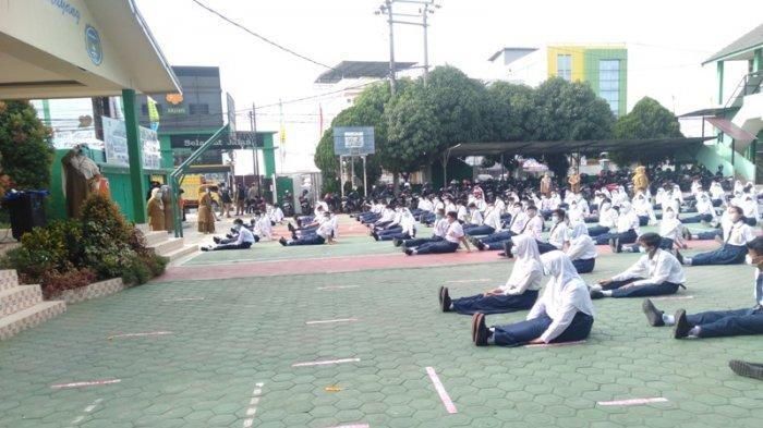 PTM di Kota Jambi Dimulai 4 Oktober Dengan Prokes Ketat, Guru Harus Swab Antigen