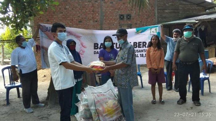 PTPN VI Peduli, 18,5 Ton Beras Dibagikan Pada Masyarakat