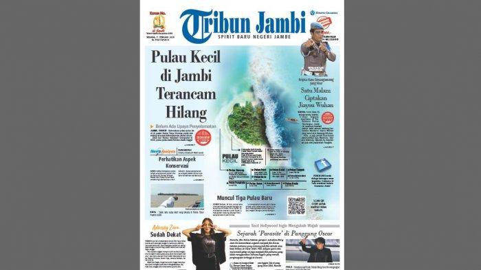 Juber Harap Pemerintah Pusat Turun Tangan, Pulau-Pulau Kecil di Jambi Terancam Hilang