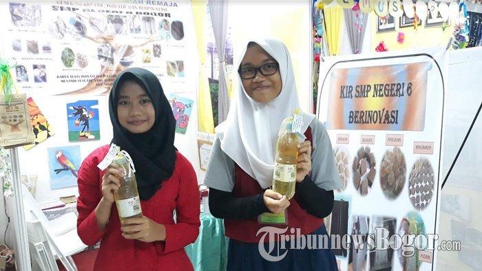 Keren, Siswa SMPN 6 di Bogor Ubah Urine Manusia Jadi Pupuk Organik