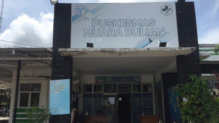 Puskesmas Muara Bulian tempat petugas KPPS melakukan rapid test