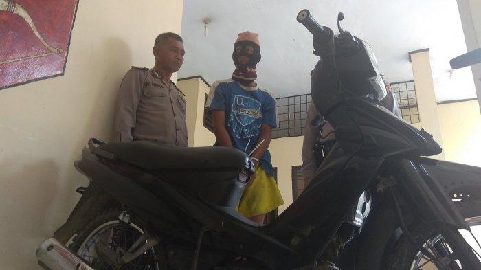 Menampung Motor Hasil Curian, Dedi Diringkus Polisi