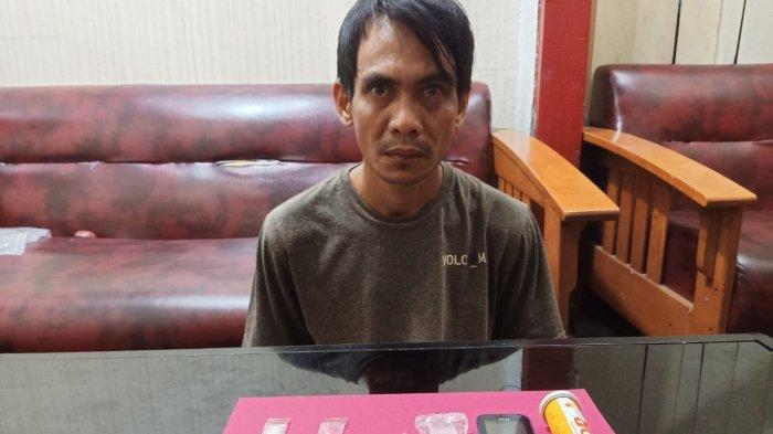 Bawa Sabu dan Ekstasi, Seorang Pria di Sei Bengkal Diringkus Satresnarkoba Polres Tebo