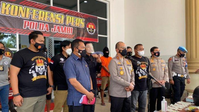 Aksi Penangkapan Kurir 8 Kg Sabu Asal Pekanbaru Oleh Anggota Polda Jambi Yang Berlangsung Dramatis