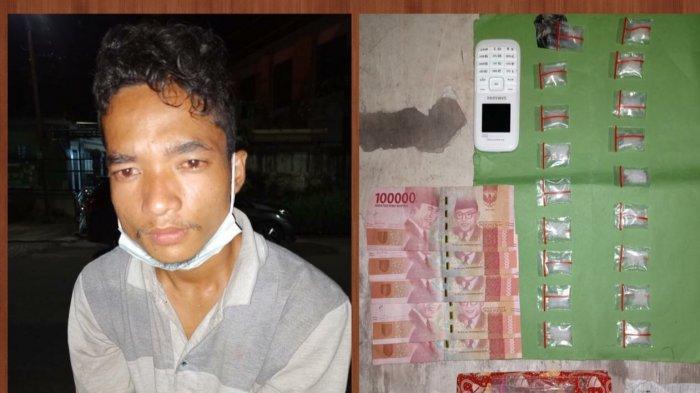 Raden, Warga Penyengat Rendah Diringkus Polda Jambi, Polisi Temukan 18 Paket Sabu