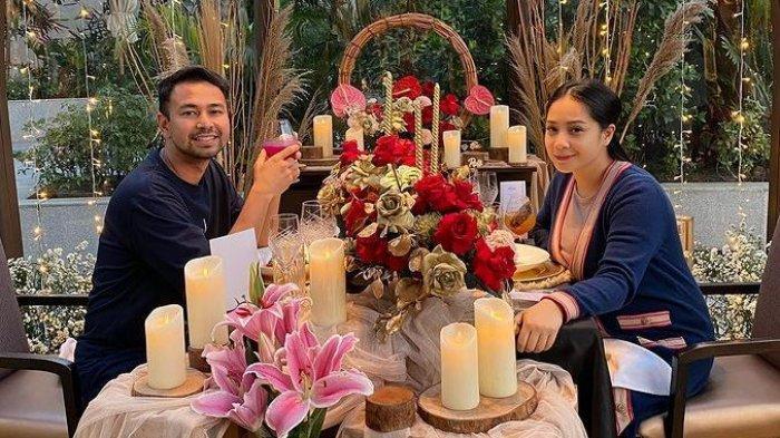 Mata Nagita Slavina Jadi Sorotan Saat Dinner dengan Raffi Ahmad, Warganet: Pasti Abis Nangis