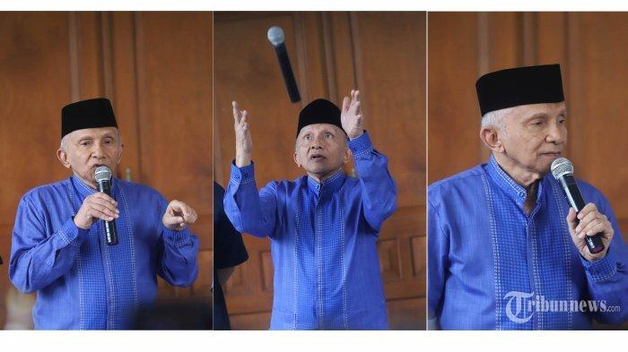 Bicara Perkembangan Politik di Indonesia, Amien Rais Sebut di Era Jokowi Politik Kurang Demokrattis