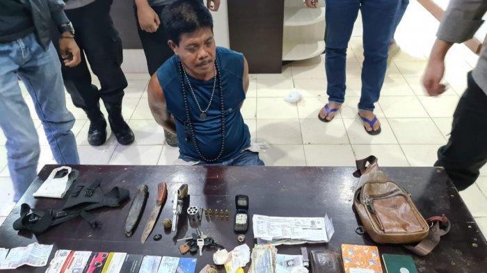 Bawa Senpi dan Pisau, Rahimin Diamankan Polisi Saat Nongkrong dan Minum Tuak di Tebo