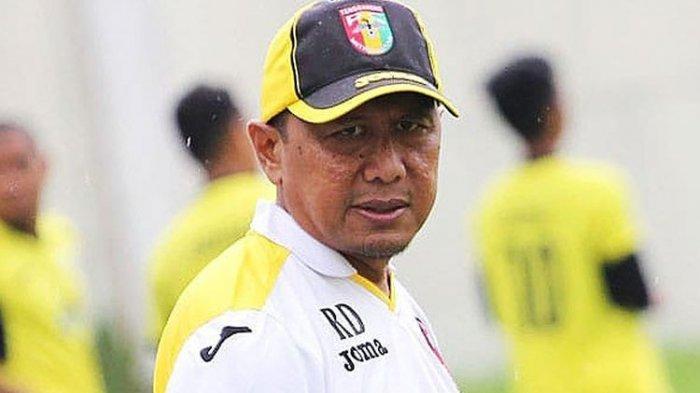 Pelatih Madura United Rahmad Darmawan.