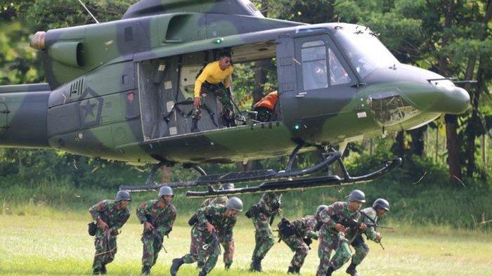 Ilustrasi pasukan TNI