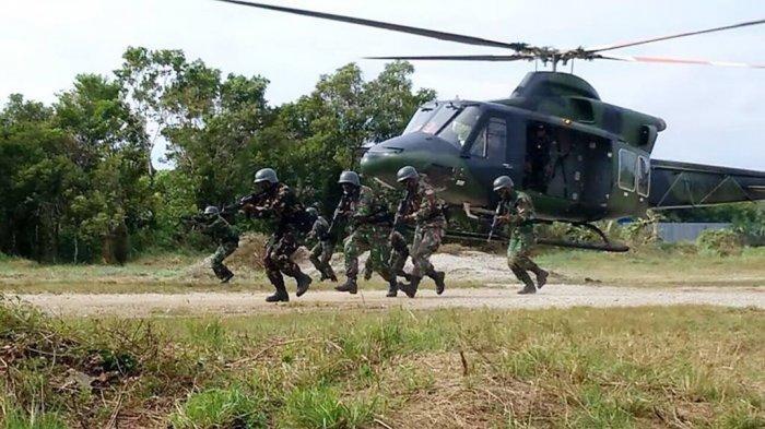 Yonif 315/Garuda Bakal Jadi Mimpi Buruk KKB Papua, Dikirim TNI AD Buat Buru Kelompok Teroris Itu