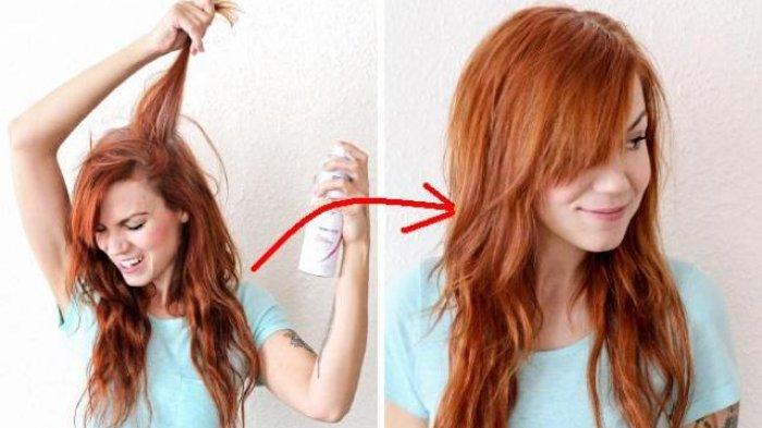 Foto Rambut Tipis Dan Lepek Bikin Penampilan Kusam Ini 10 Cara Simpel Rambut Terlihat Tebal Tribun Jambi