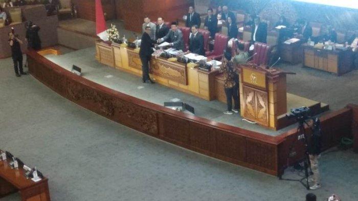 Sah, Revisi UU KPK Diteken DPR, Presiden Jokowi dan DPR Setuju Menjadi UU
