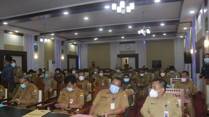 Peserta Rapat Pembahasan Finalisasi Rencana Kerja (Renja) Tahun 2022.