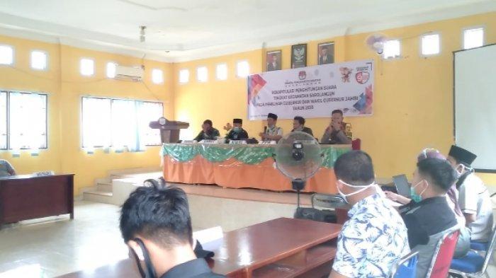 Pleno PPK Kabupaten Sarolangun Digelar Hari Ini