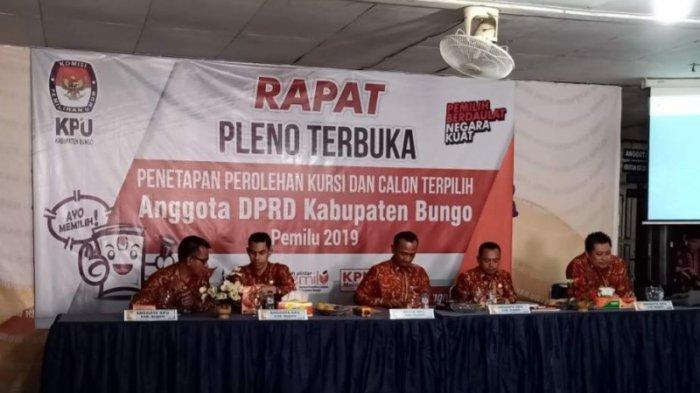 WIKIJAMBI - Daftar Nama 35 Anggota DPRD Bungo Terpilih Periode 2019-2024, Kenali Wakil Daerah Anda