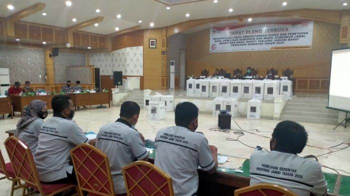 KPU Tanjabbar Tetapkan Hasil Pleno Tingkat Kabupaten, CE-Ratu Unggul di Tanjabbar