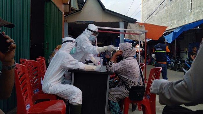 Usai Pilkada Serentak di Tanjab Timur, Tim Gugus Tugas Rapid Test Massal Masyarakat & Penyelenggara